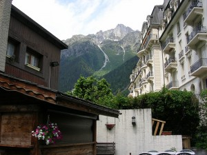 The Brévent, from Chamonix