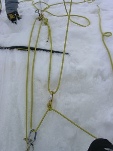How to haul someone out of a crevasse: Learn to build pulleys