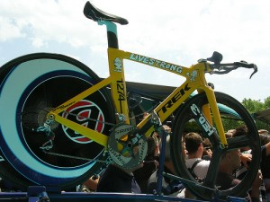 Lance's time-trial bike
